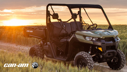 canam off road ssv